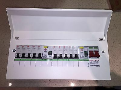 Wylex Consumer Unit 10 Way Metalclad (All Brand New In The Boxes)