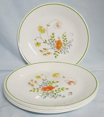 Corelle Corning Spring Bouquet Luncheon Plate Set of 5