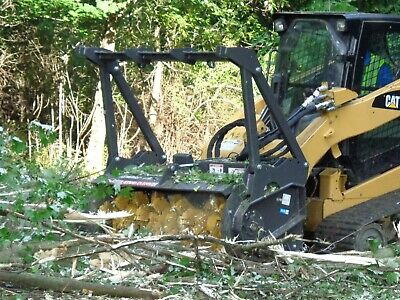 "Series II Skid Steer Mulcher Attachment - 72"" with teeth - No fuss land clearing"