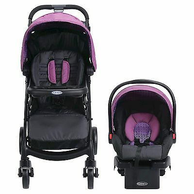 Graco Verb Click Connect Travel System, Stroller & Car Seat ~ Turner