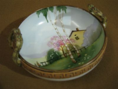 Antique Nippon Hand Painted Bowl