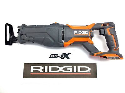 Ridgid R8642 NEW GEN5X 18V Reciprocating Saw Sawzall - Bare tool