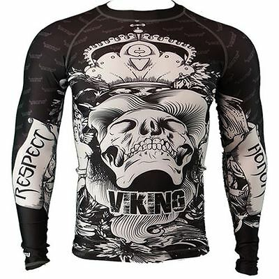 Viking Never Surrender Long Sleeve Rash Guard