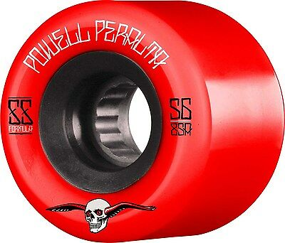 Powell Peralta - G Slides Red 56MM 85A ATF Skateboard Wheels