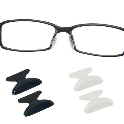 Soft Stick On Silicone Nose Pad Eyeglass Sunglasses Glasses Spectacles