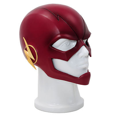 The Flash Mask - Cosplay Fancy Dress Halloween Adults Costume Party Cowl New