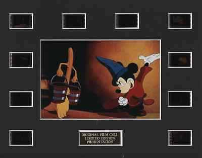 * Mickey Mouse Fantasia 35mm Film Cell Display *