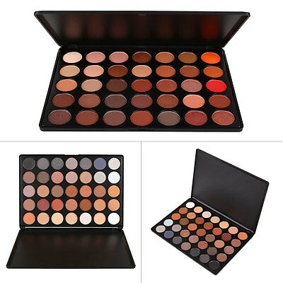 35 Color Earth Warm Color Shimmer Matte Eyeshadow Palette Makeup Eye Shadow