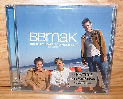 Out Of My Heart (Into Your Head) The Video by Bbmak (CD Single) **NEW**