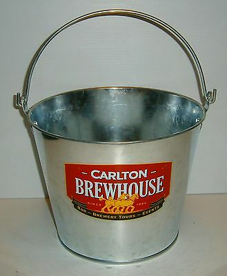 Carlton Draught Beer new metal drink ice cube bucket for home bar brew collector