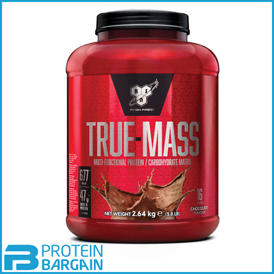 BSN True Mass 2.64kg Weight Gainer Serious Mass Gold Standard Amazing Value
