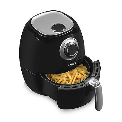 Tower T17005 Low Fat Health Air Fryer with 3.2L Capacity & 1350W in Black - NEW