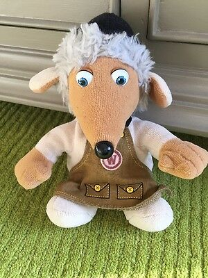 """The Wombles soft toy by Golden Bear - Tobermory - 6"""" Womble"""