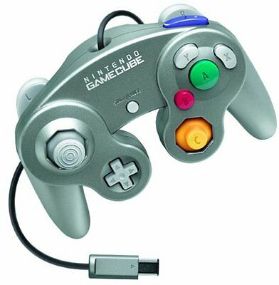 Official Nintendo Classic Gamecube Controller Silver (Japan Import) [GameCube]