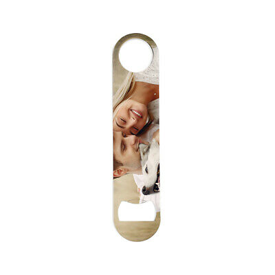 Bar Blade Bottle Opener - Custom - Personalised - Speed Opener - Stainless Steel