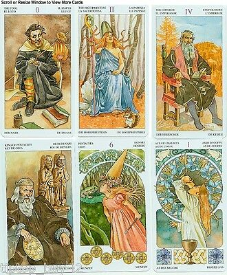 The Sorcerers Tarot 78 Fortune Telling New Sealed Cards Deck Free Tracking