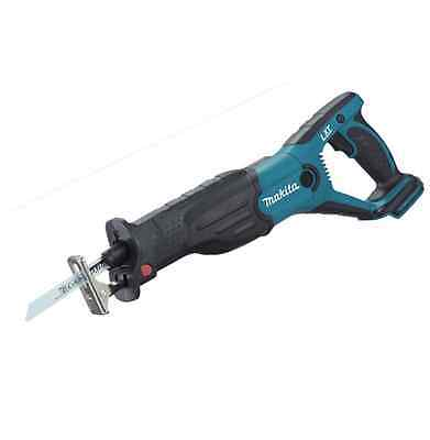 Makita Djr181Z Lxt 18V Reciprocating Saw Body Only Blades Wood Metal Cordless
