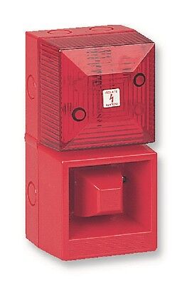 Clifford And Snell Yl40/d25/r/rn Sounder/beacon 24V Red/red