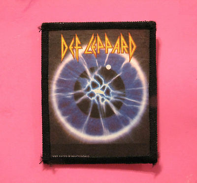 Def Leppard Printed Vintage Patch  Sew On  Uk Made Photo Print