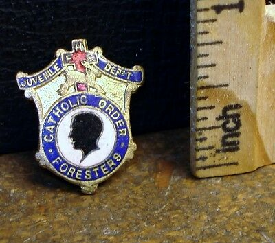 Catholic Order of Foresters, Juvenile Dept Pin