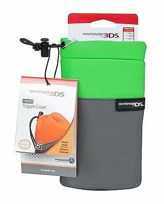 Gameboy 3Ds Pouch - Toggle Case - Green