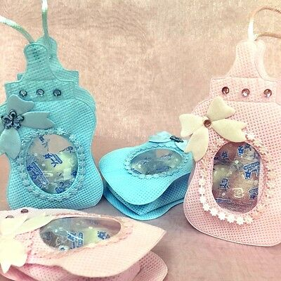 24 pieces of baby bottle favor bags pouch