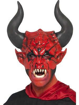 New Adult Unisex Devil Lord Mask Costume Accessory