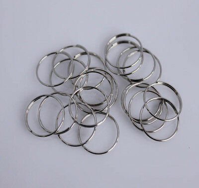 100pcs--Chrome Plated Chandelier Beads Or Faceted Ball Connector  11mm  Rings