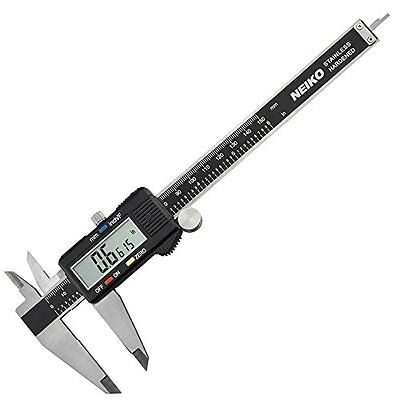 Neiko 01407A Electronic Digital Caliper with Extra Large LCD Screen | 0 - 6 Inch