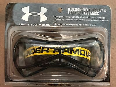 Under Armour Illusion Youth and Adult Women Field Hockey & Lacrosse Eye Mask, Me
