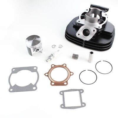Cylinder Piston Gasket Top End Kit for Yamaha Blaster 200 YFS200 1988-2006