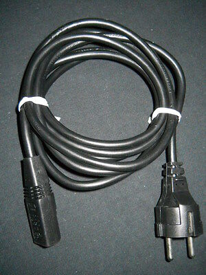 Volex European 10A 250V Power Supply Cord Set for Cogent µScale TFF, Used