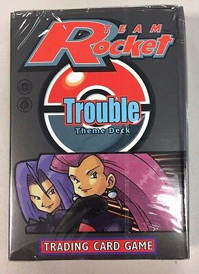 Pokemon TCG Team Rocket Trouble Factory Sealed Theme Deck - QTY AVAIL