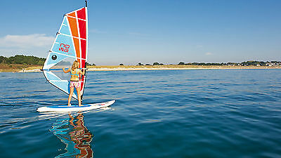 Windsurfing Board BIC Beach 225 with sail - 4 sets available