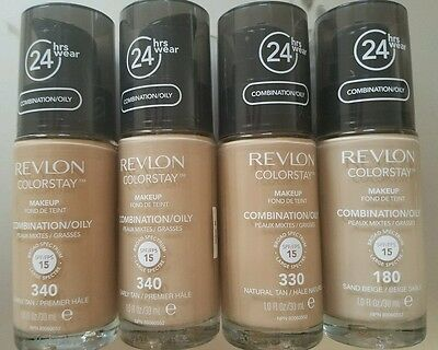 NEW Revlon 24 hrs Colorstay Makeup COMBINATION/OILY SKIN CHOOSE YOUR COLOR!!!