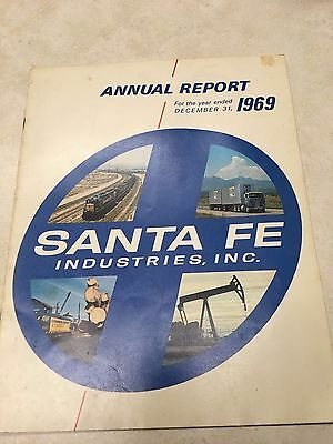 Santa Fe Industries, Inc - Chicago, Illinois - 1969 Annual Report