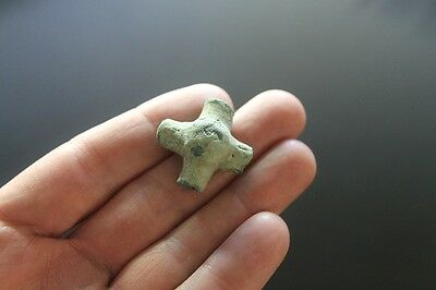Roman bronze junction fitting Cavalry military horse harness part 1st century • CAD $20.24