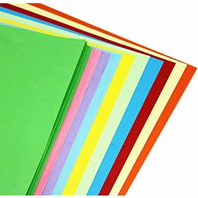 A4 Assorted Colored Origami Paper 10 color , 100 sheets / bags