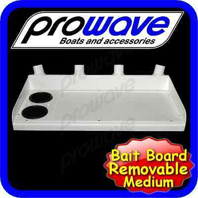 Bait board for tinnie, removable, top only - 920 wide