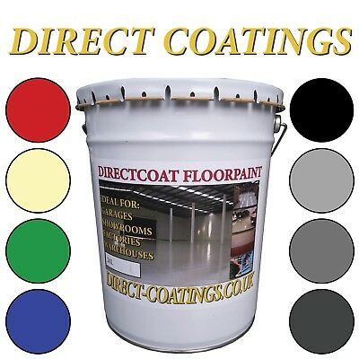 Industrial Construction Floor & Wall Paint, Perfect For Factory Or Garages - 20L
