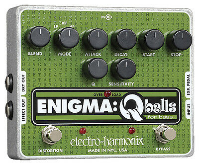 Electro-Harmonix Enigma Q-Balls Envelope Filter for Bass