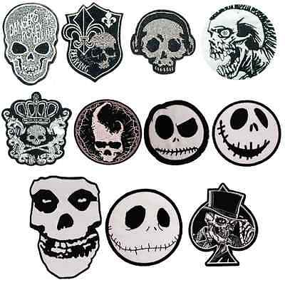 Pirate Emoji Wholesale Embroidery Iron On Patch Badge Clothes Fabric Applique