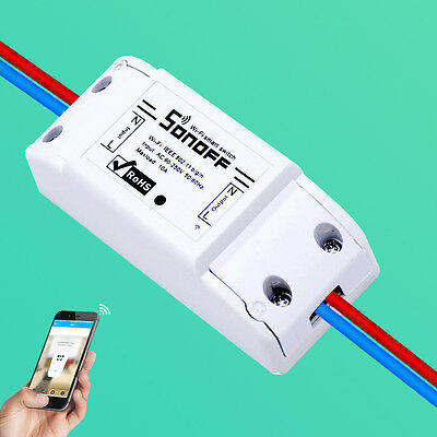 TH Temperature Humidity Monitor WiFi Wireless Smart Home Time Switch for APP Hot