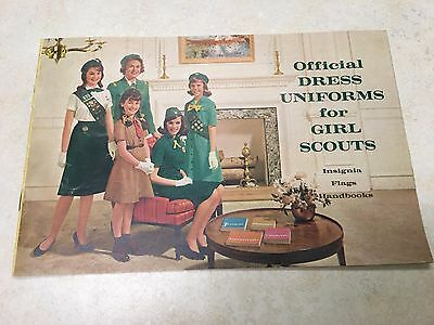 1960's Official Dress Uniforms for Girl Scouts - Insignia, Flags, Handbooks Cata