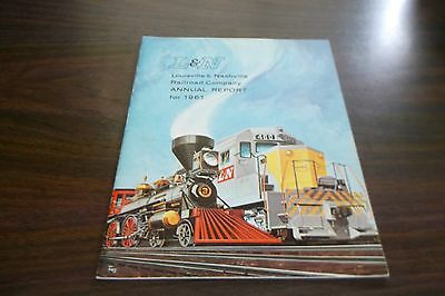 1961 L&n Louisville & Nashville Railroad Company Annual Report
