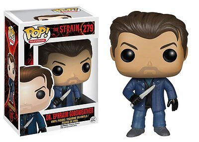 Dr Ephraim Goodweather The Strain Pop Television Vinyl Figure Funko New Vaulted