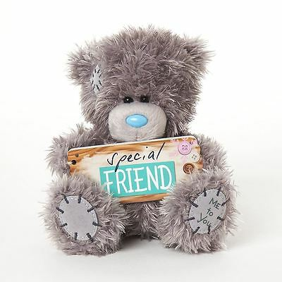 """Me to You 5"""" Plush With Special Friend Plaque Gift For Friends Tatty Teddy Bear"""
