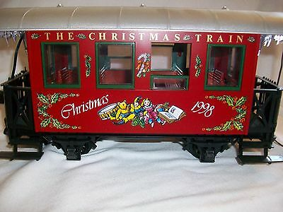 LGB Train G Scale 36078 Chirstmas Train Passenger Coach 1998