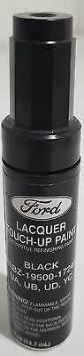 NOS OEM Ford Lacquer Touch Up Paint BLACK  ALBZ-19500-1724A  UA UB UD YC