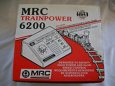 MRC Trainpower 6200 Full Power 60VA w/Powwer Booster Switch For LGB